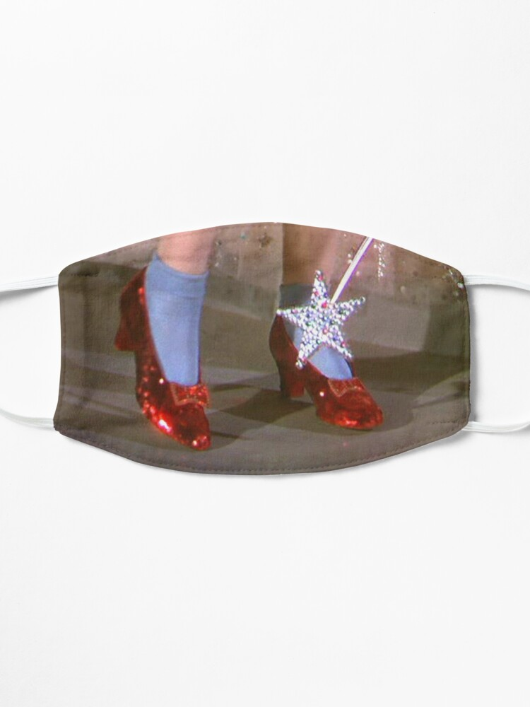 Alternate view of Dorothy red shoes Mask