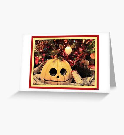 Twist on Christmas Greeting Card