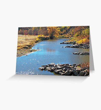 Autumn at Skunk Creek Greeting Card