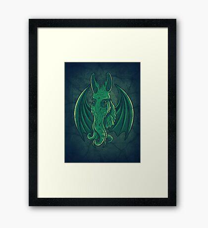 Mulethulhu Framed Print