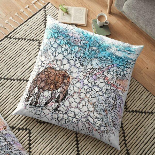 The Atlas of Dreams - Color Plate 178 Floor Pillow