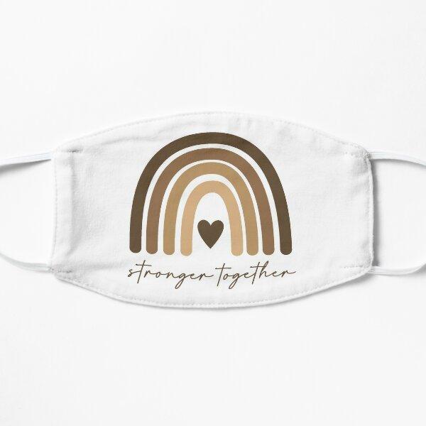 Stronger Together Flat Mask