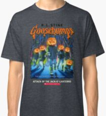 Goosebumps Attack of the Jack O'Lanterns Classic T-Shirt