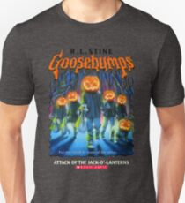 Goosebumps Attack of the Jack O'Lanterns Unisex T-Shirt