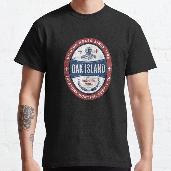Oak Island Treasure Hunting Retro Templar Knight Treasure Gi Classic T-Shirt