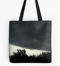 Small Tornado Passing By Tote Bag