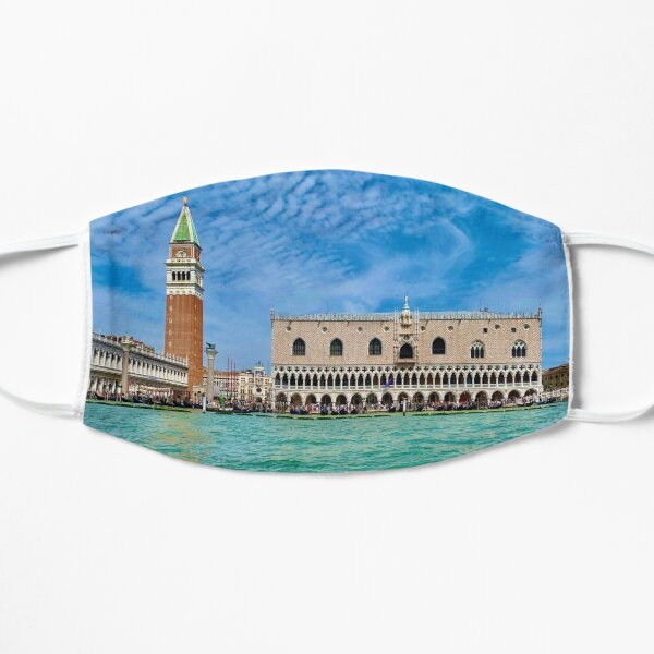Piazza San Marco, Venice, Italy Flat Mask