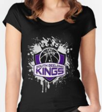 South Geelong Kings Basketball Women's Fitted Scoop T-Shirt