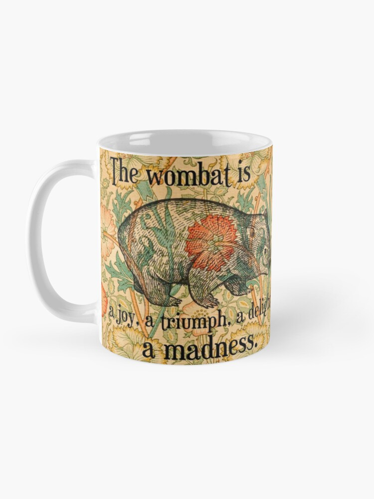 Alternate view of Ode to a Wombat Mug