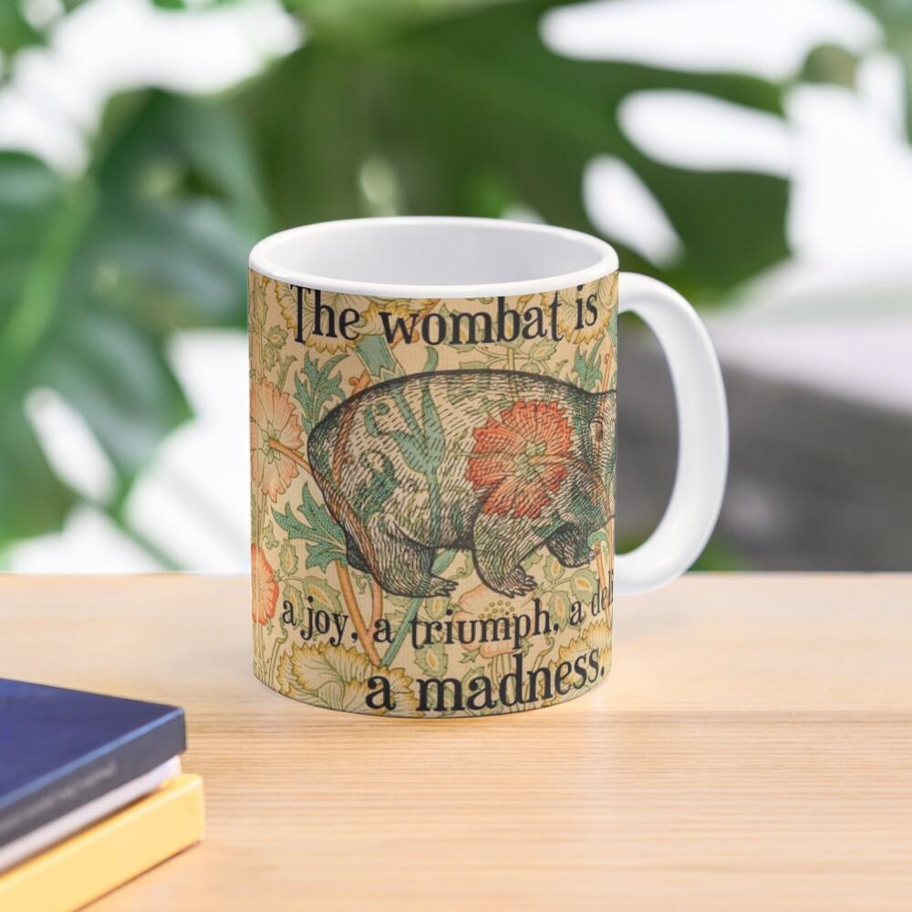 Ode to a Wombat Mug