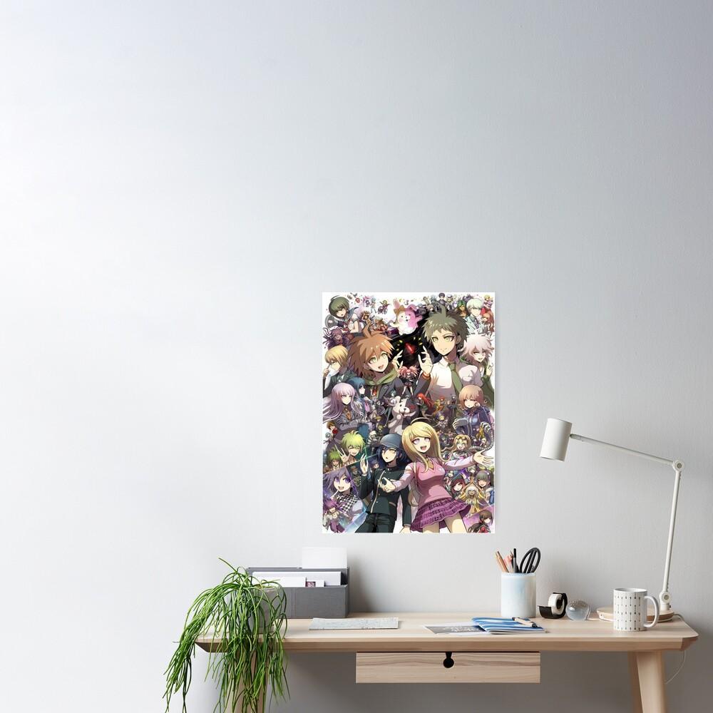 Poster «Danganronpa - Makato / Hajime / Kaede / Nagito»