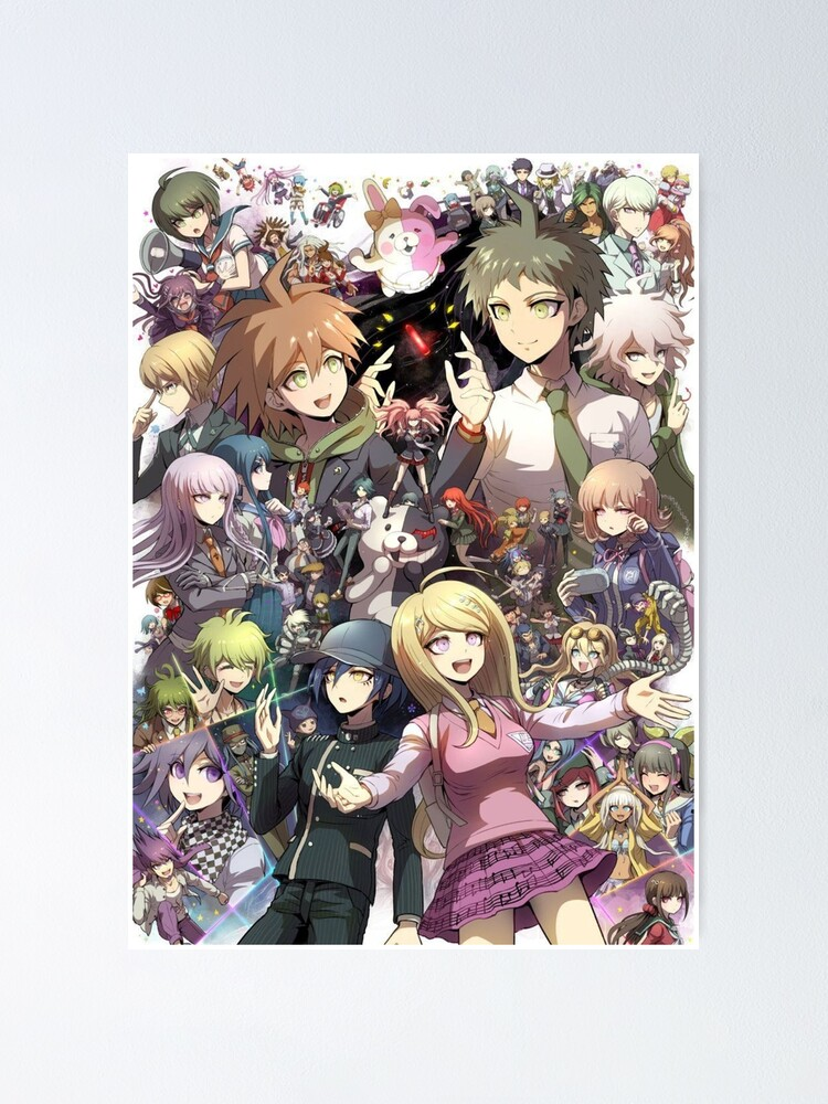 Poster ''Danganronpa - Makato / Hajime / Kaede / Nagito': autre vue