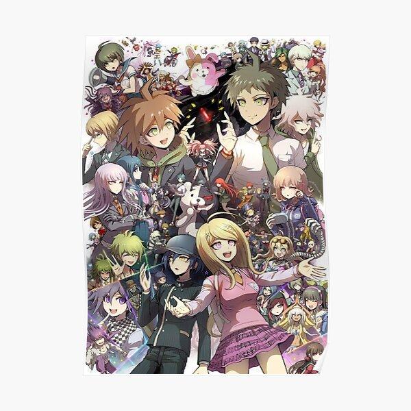Danganronpa - Makato / Hajime / Kaede / Nagito Póster