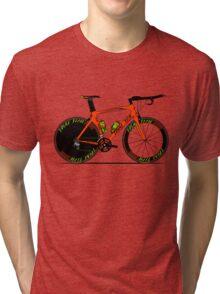 Time Trial Bike Tri-blend T-Shirt