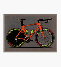 Time Trial Bike Photographic Print