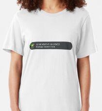 Acheivement unlocked - Duplicate Genetic Code Slim Fit T-Shirt