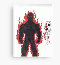 PyroShadow Canvas Print