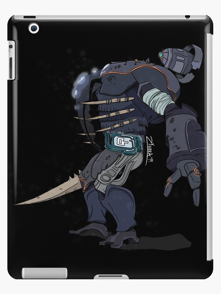 Subnautica Marguerit Merida S Prawn Suit Ipad Case Skin By Moosecanoe32 Redbubble It is normal when first piloting a prawn suit to feel a sense of limitless power. redbubble