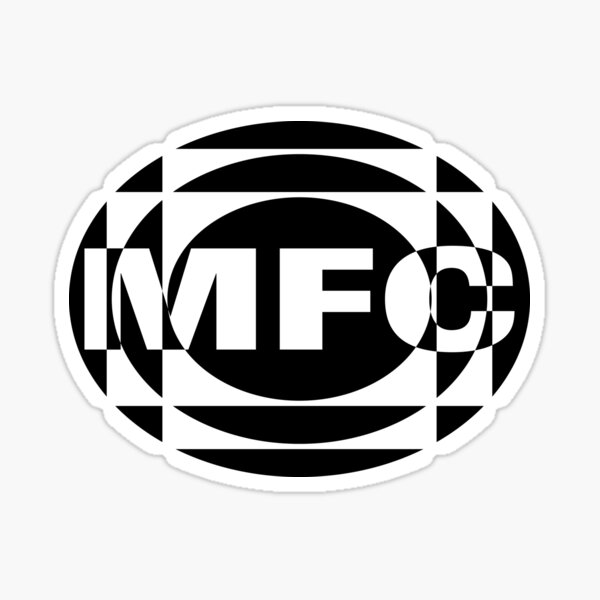 The 1975 MFC logo  Sticker