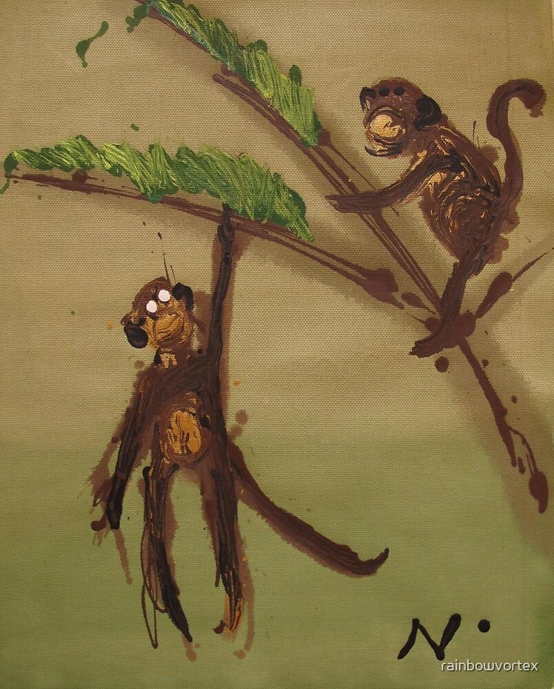 monkey bussines  by rainbowvortex