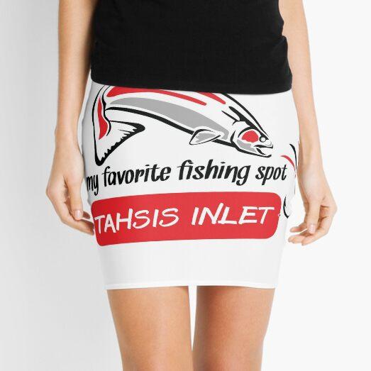 My Favorite Fishing Spot - Tahsis Inlet - Nootka Sound Mini Skirt