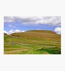 The Ascent of Mam Tor  Photographic Print
