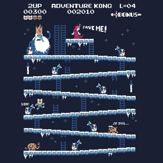 TShirtGifter presents: Adventure Kong | Unisex T-Shirt