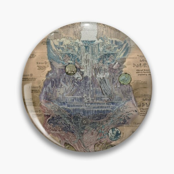 Made In Abyss Map Pin