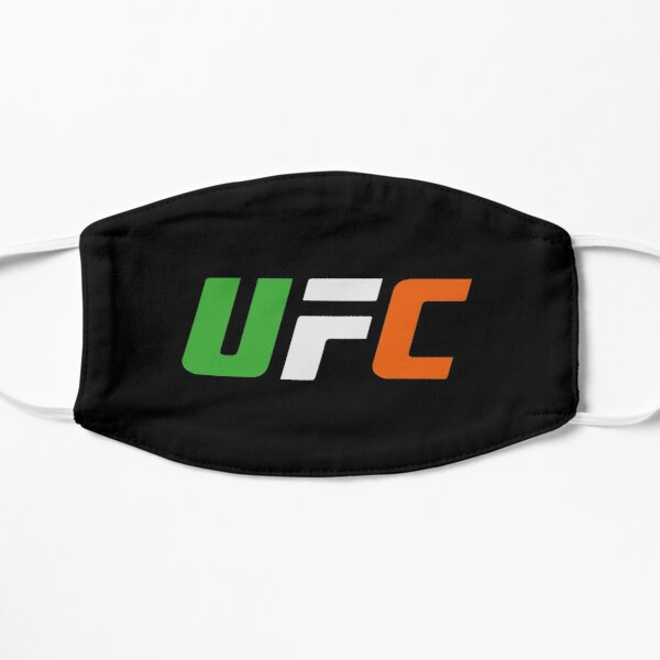 UFC Conor mcgregor symbol of notorious champion of ireland Flat Mask