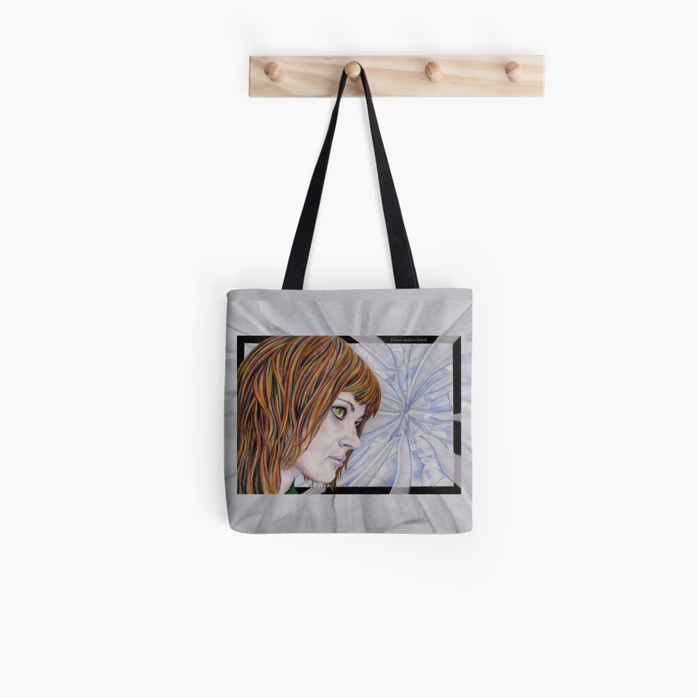 Fracture: Original colour pencil drawing by Dean Sidwell Tote Bag