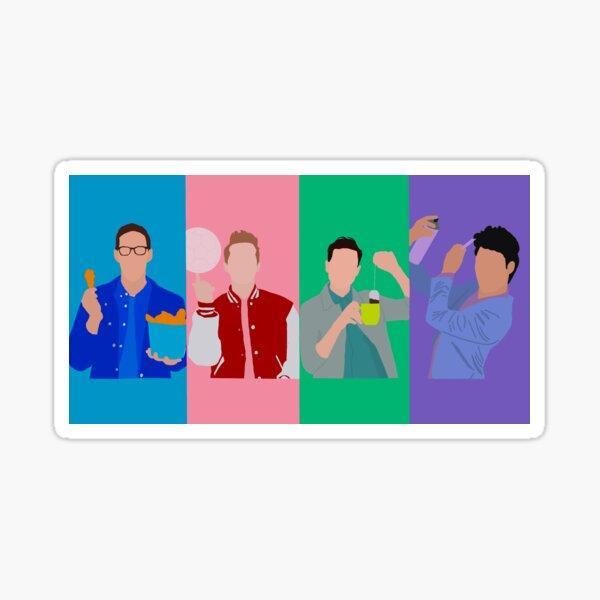 The Try Guys Fan Art Sticker