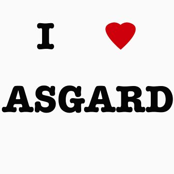 I <3 Asgard by withoutwax94