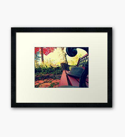 Oxford, MI | Autumn 8 Framed Print