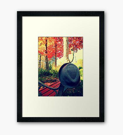 Oxford, MI | Autumn 9 Framed Print
