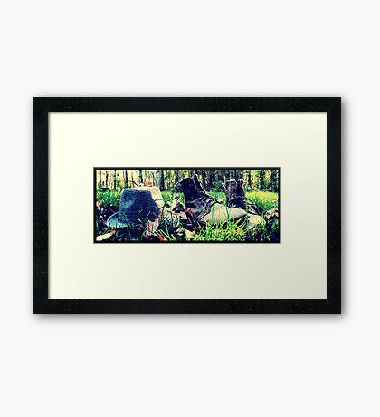 Oxford, MI | Autumn 12 Framed Print