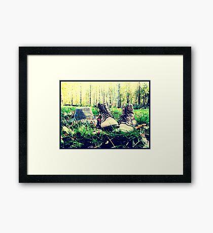 Oxford, MI | Autumn 14 Framed Print