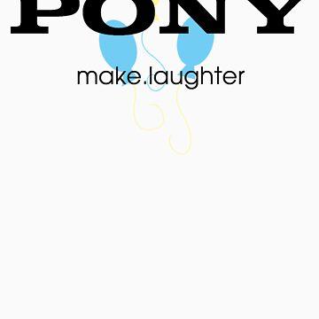 Pony make.laughter by SpicyNikorasu