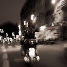 Paris by Night by Tatiana Ivchenkova