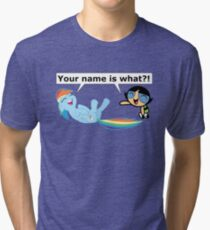 Your Name is What?! Tri-blend T-Shirt
