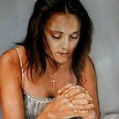 three tubes painting 2 by Hidemi Tada