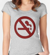 Marceline: No Smoking Shirt Women's Fitted Scoop T-Shirt