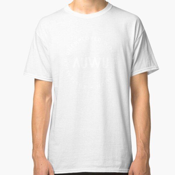 The Basic AUWU Logo (white) Classic T-Shirt