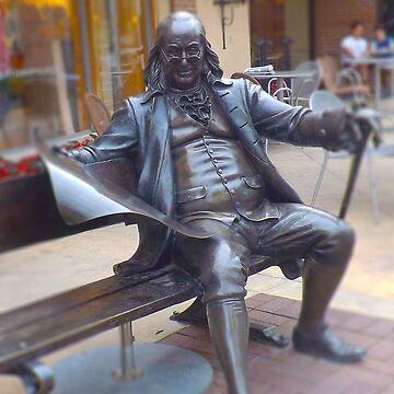 Benjamin Franklin Life-Size Bronze Statue, Kansas City by PhotosByTrish