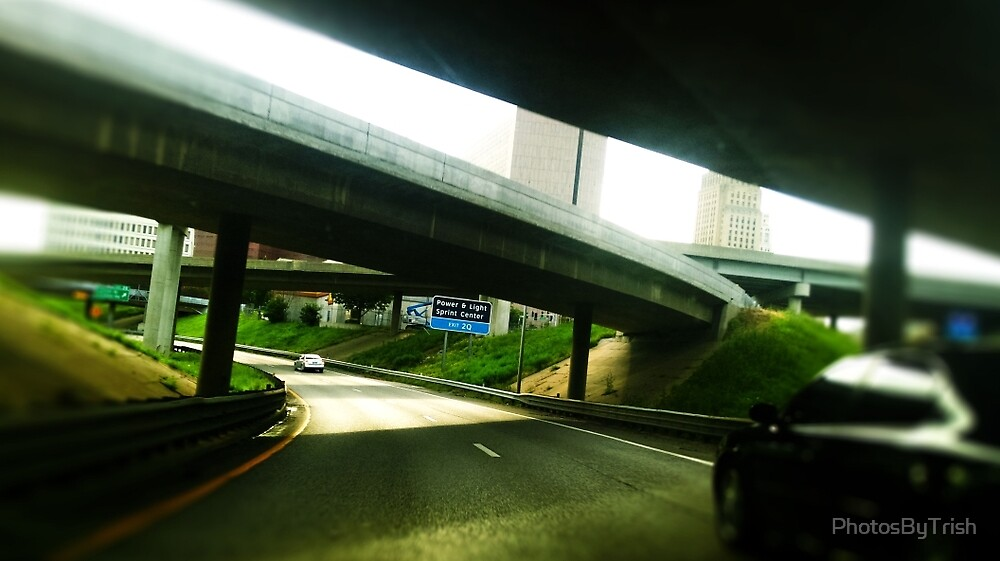 Driving Under Overpass in Kansas City by PhotosByTrish