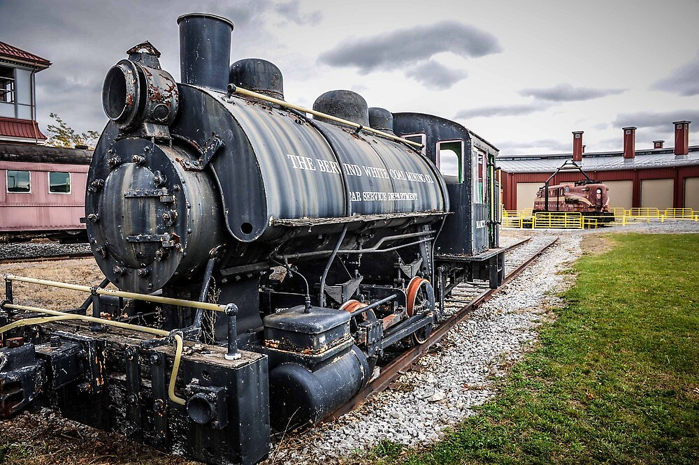 Old steamer by Cindy Crossley