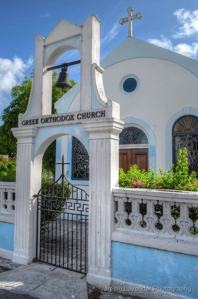 Greek Orthodox Church in Nassau, The Bahamas by Jeremy Lavender Photography
