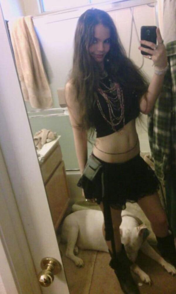 Black Skirt by SxySindy