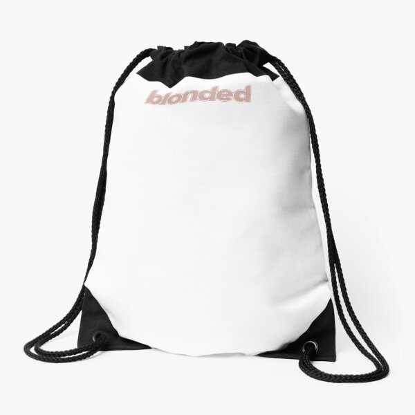 frank ocean's blonded Drawstring Bag