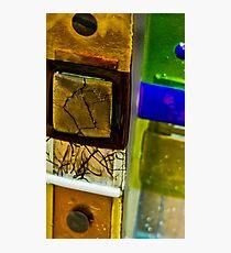 Glass Squares Photographic Print
