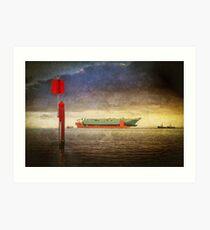 Colossus Voyage Art Print